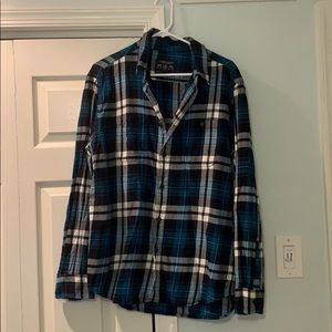 American Eagle Flannel Shirt Size L